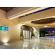 The Arabesque decor entrance takes you to an infinty pools view