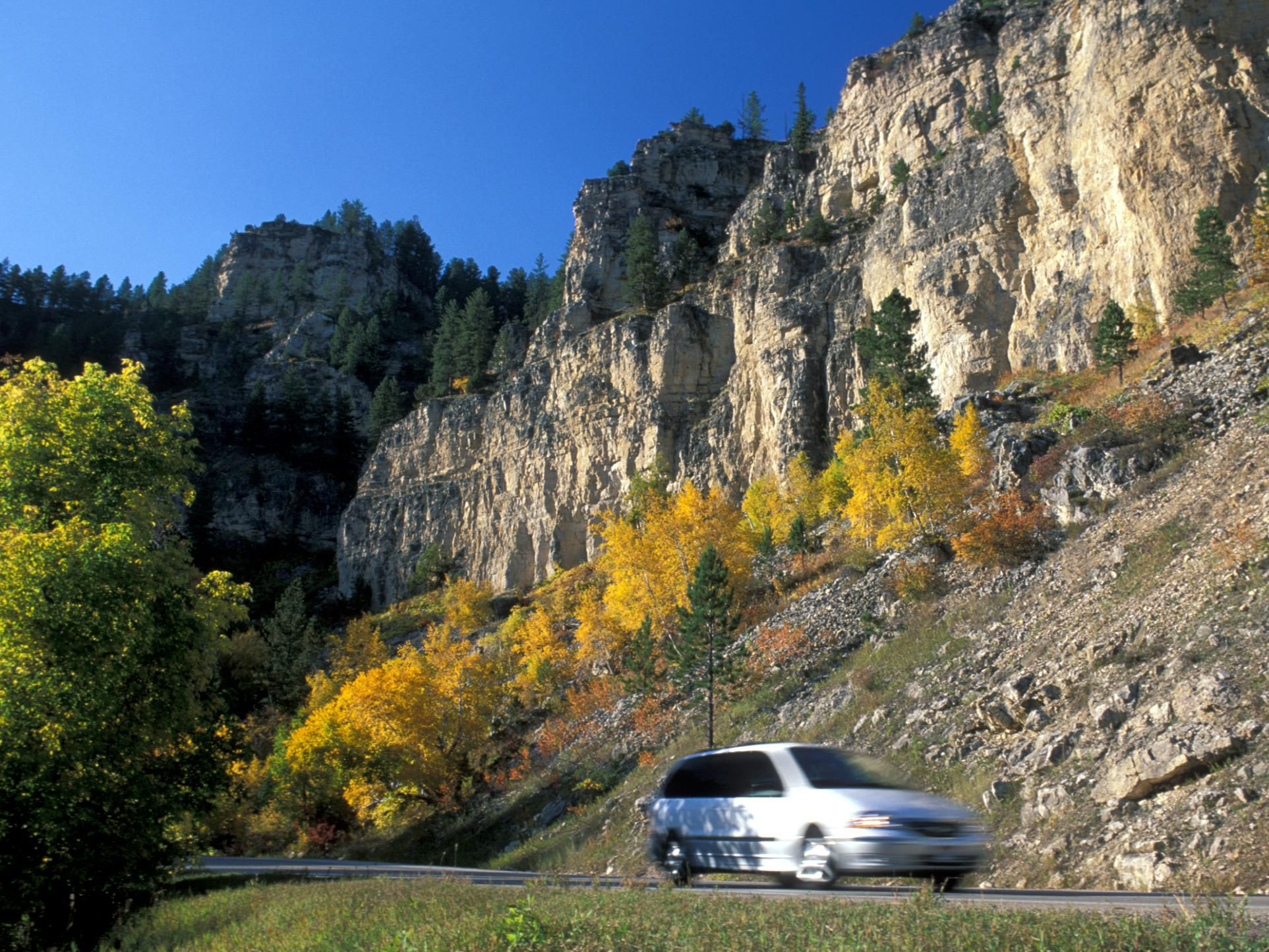 Scenic Spearfish Canyon