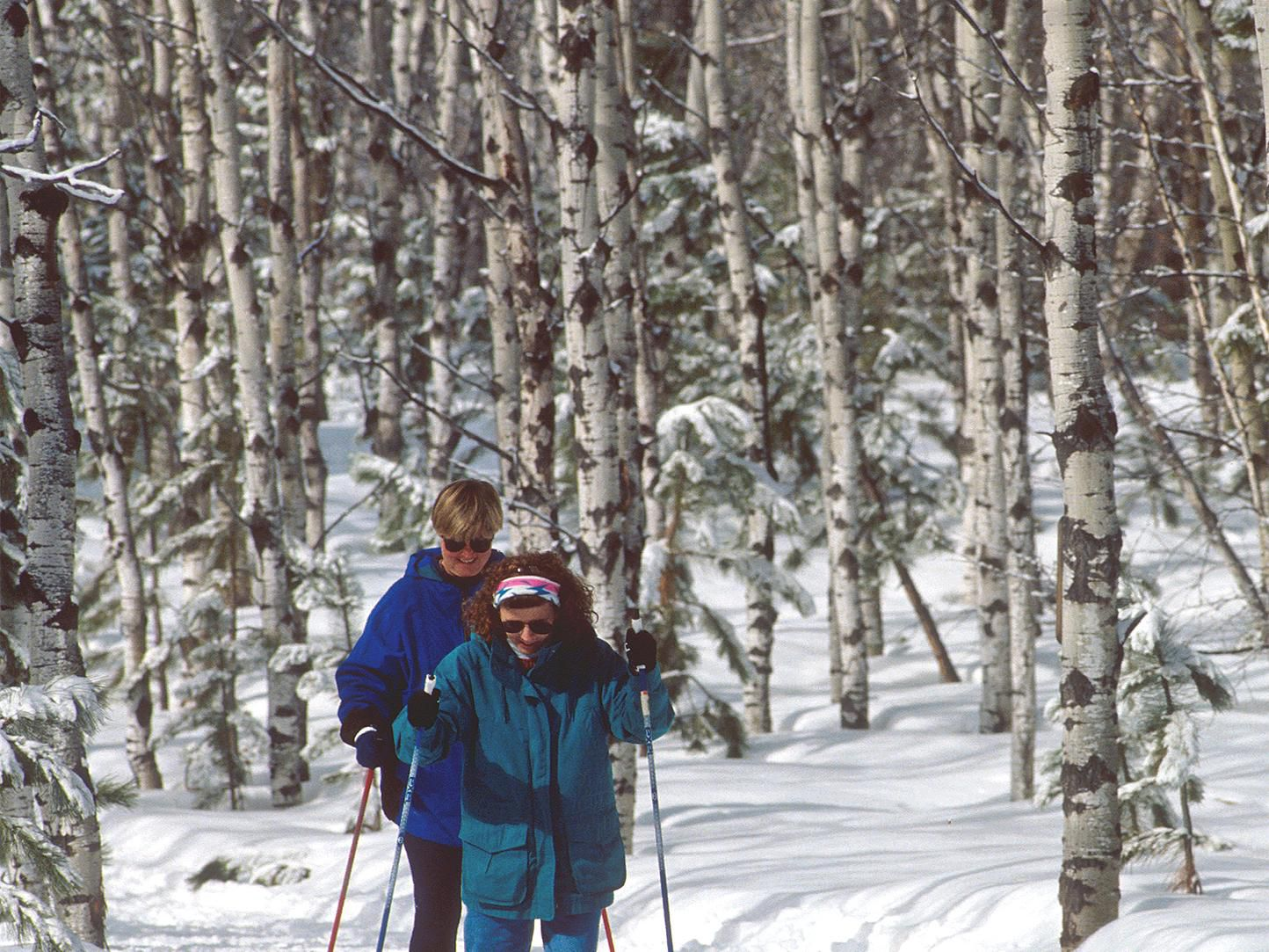 Cross Country Skiing (photo courtesy of SD Tourism)