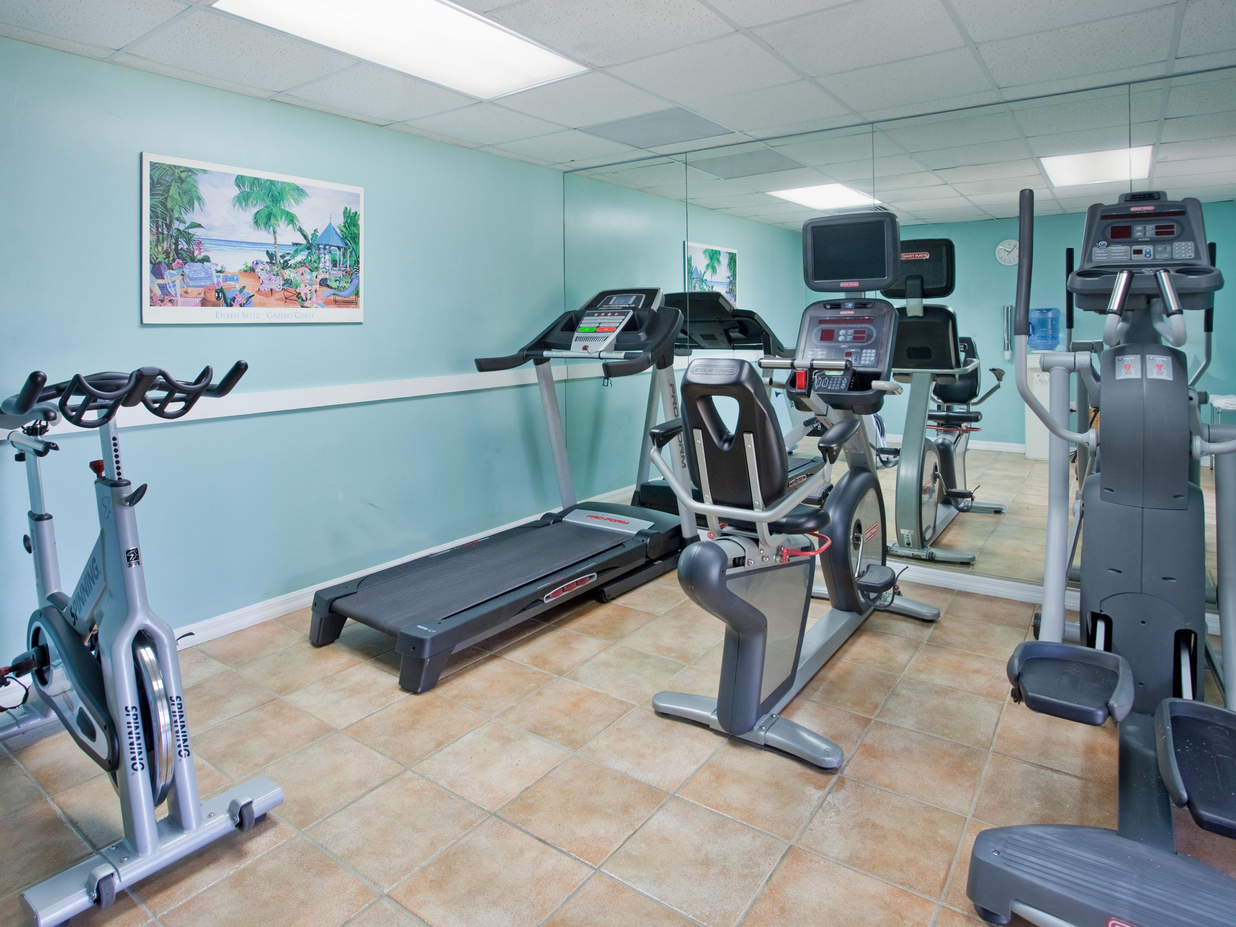 On Site Fitness Center at Holiday Inn Resort