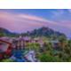 Panoramic sunset view