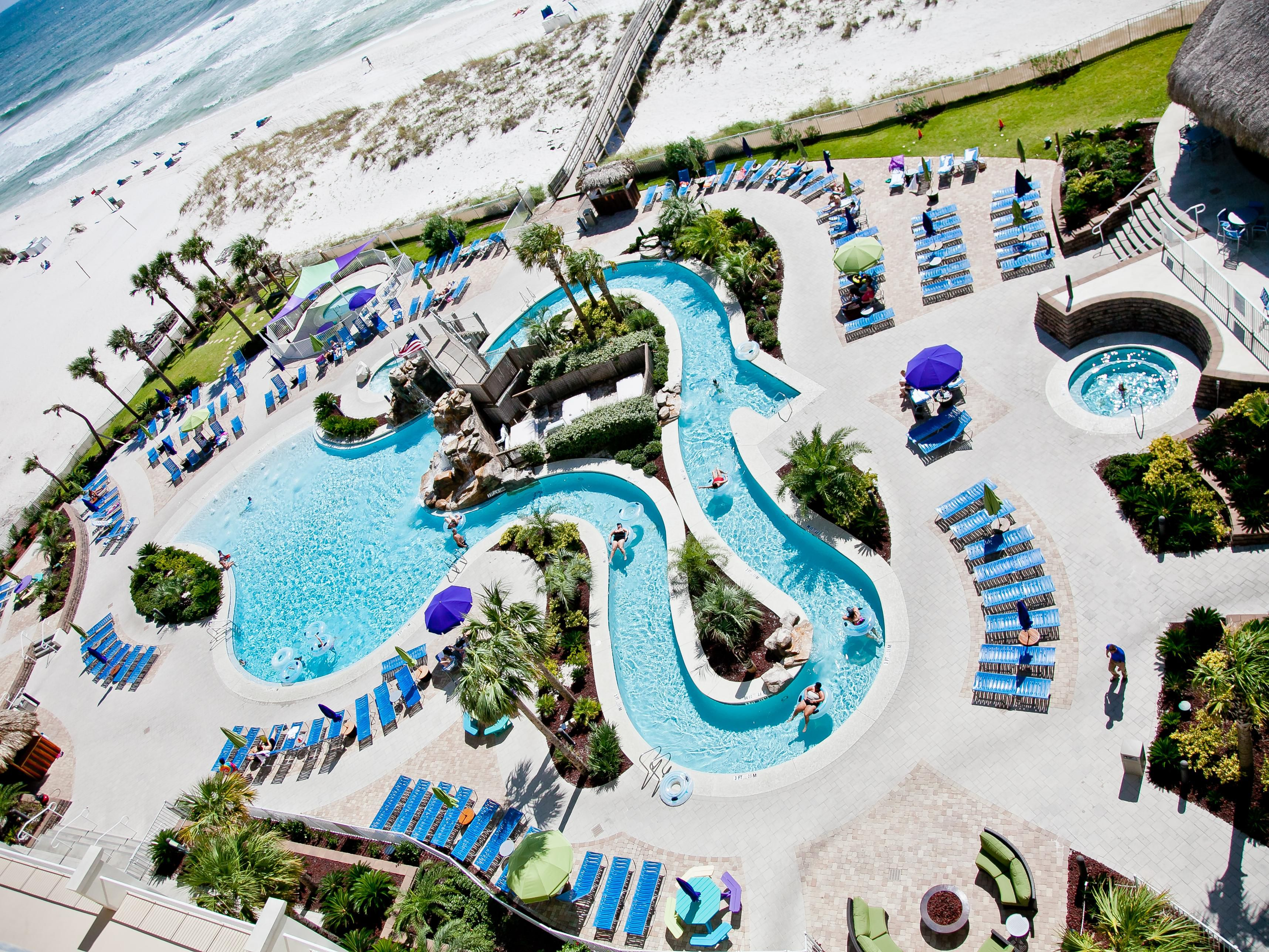 Holiday Inn Resort 250 ft heated Lazy River pool & 2 hot tubs