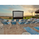 Dive in Movies at the Pool Facing Pensacola Beach at Holiday Inn