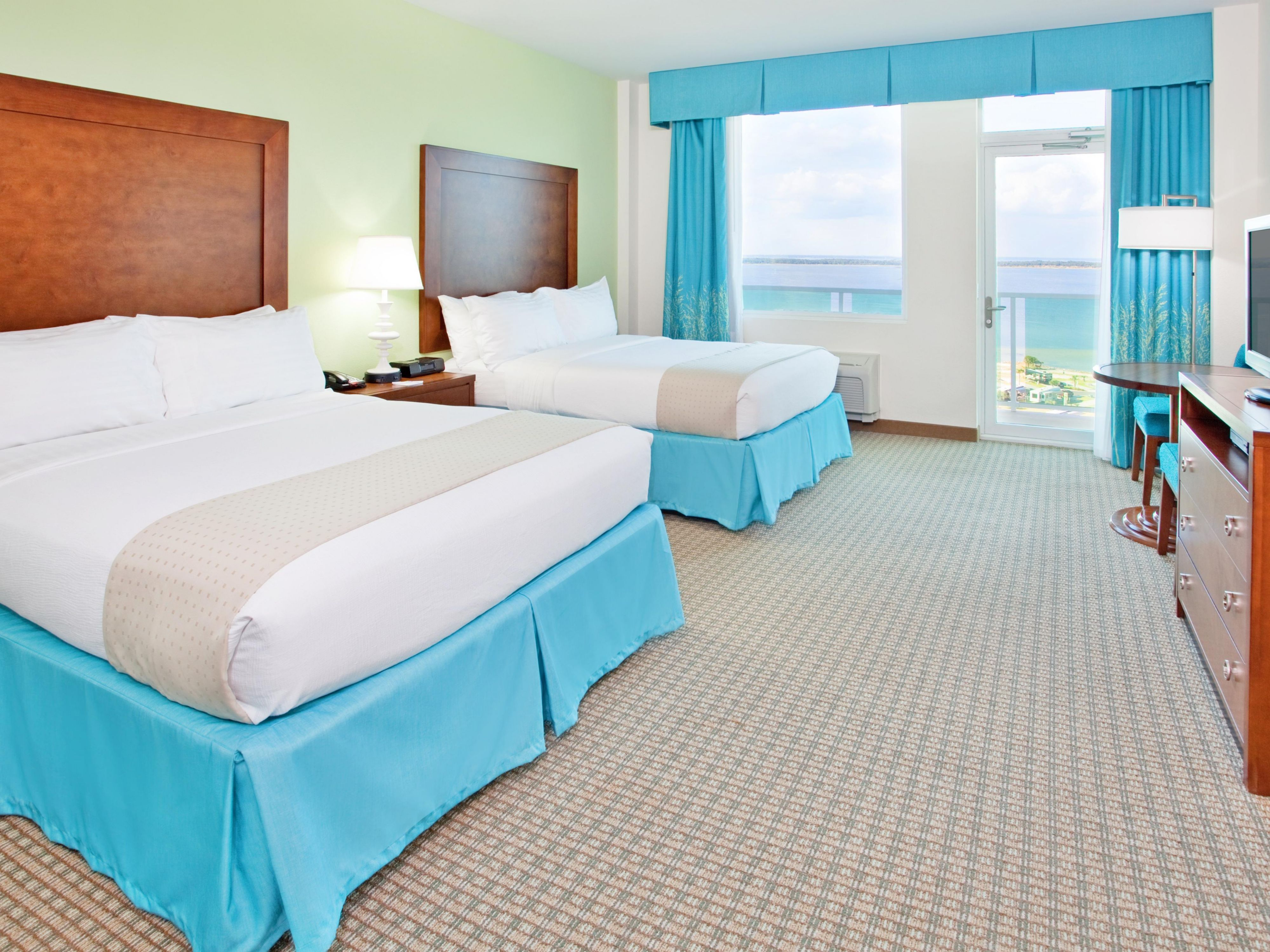 Holiday Inn Resort Pensacola Two Queen Beds Gulf View