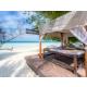 Spa pavilion on the beach