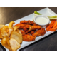 On the lighter side try our buffalo wings made three different way