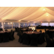 Beautiful evening receptions in our Pavilion tent