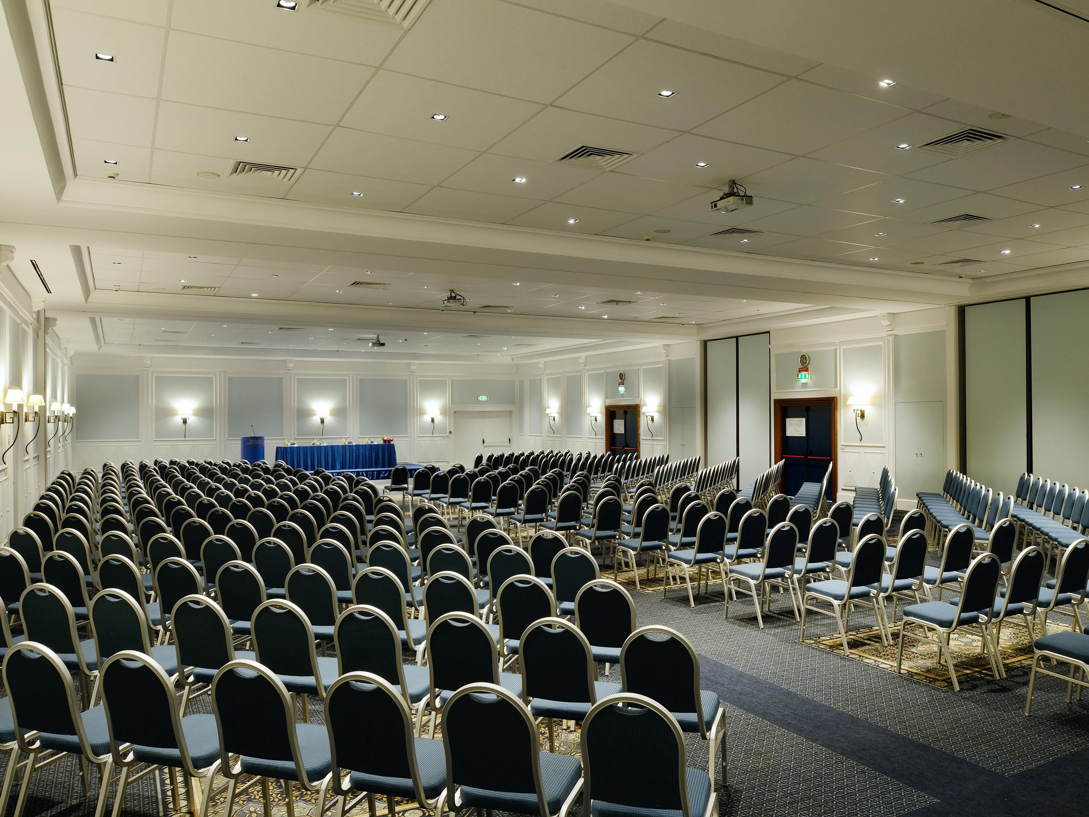 Olimpico Meeting Room Theatre style set up