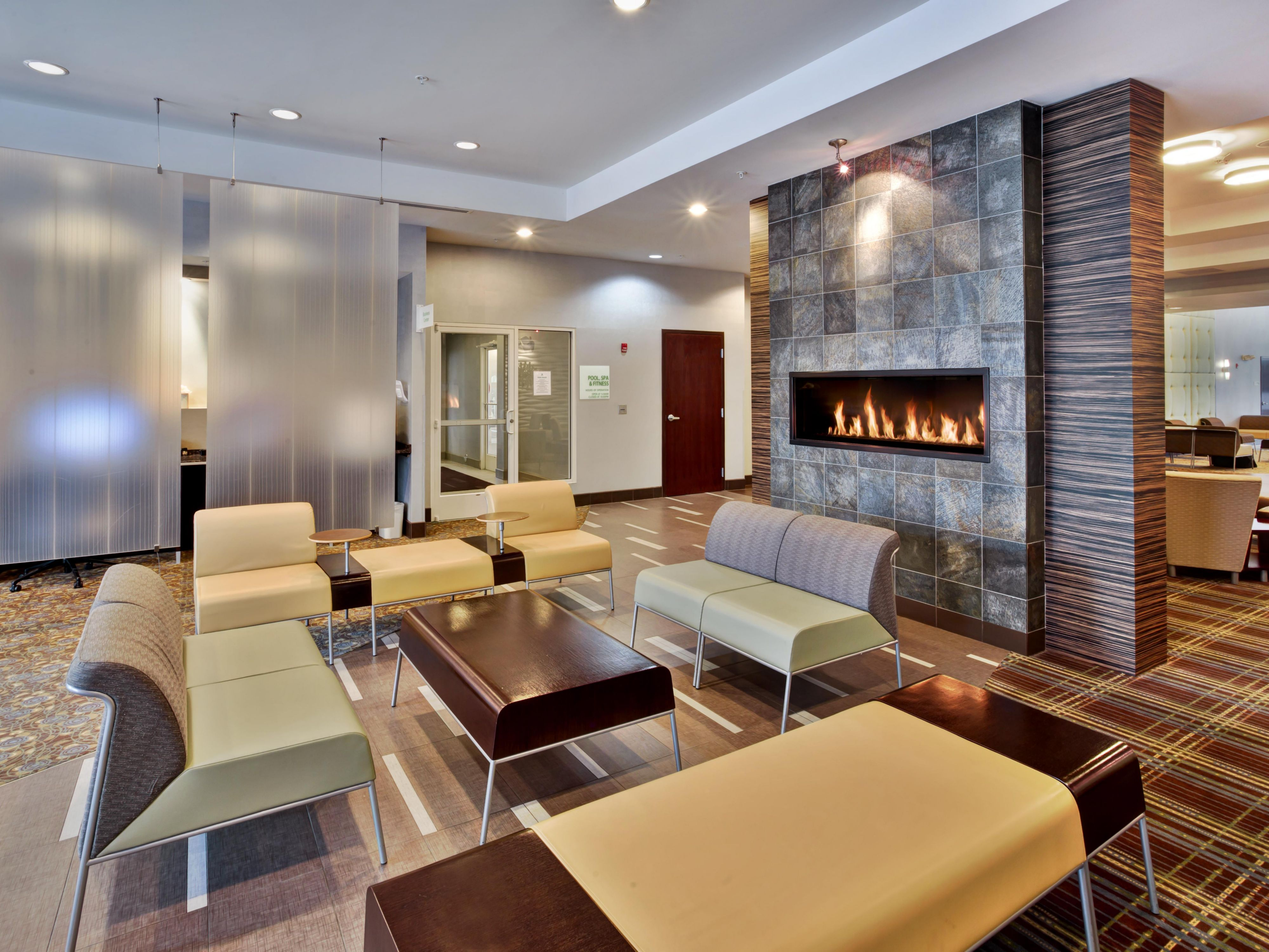 Kick back in our comfortable Lobby