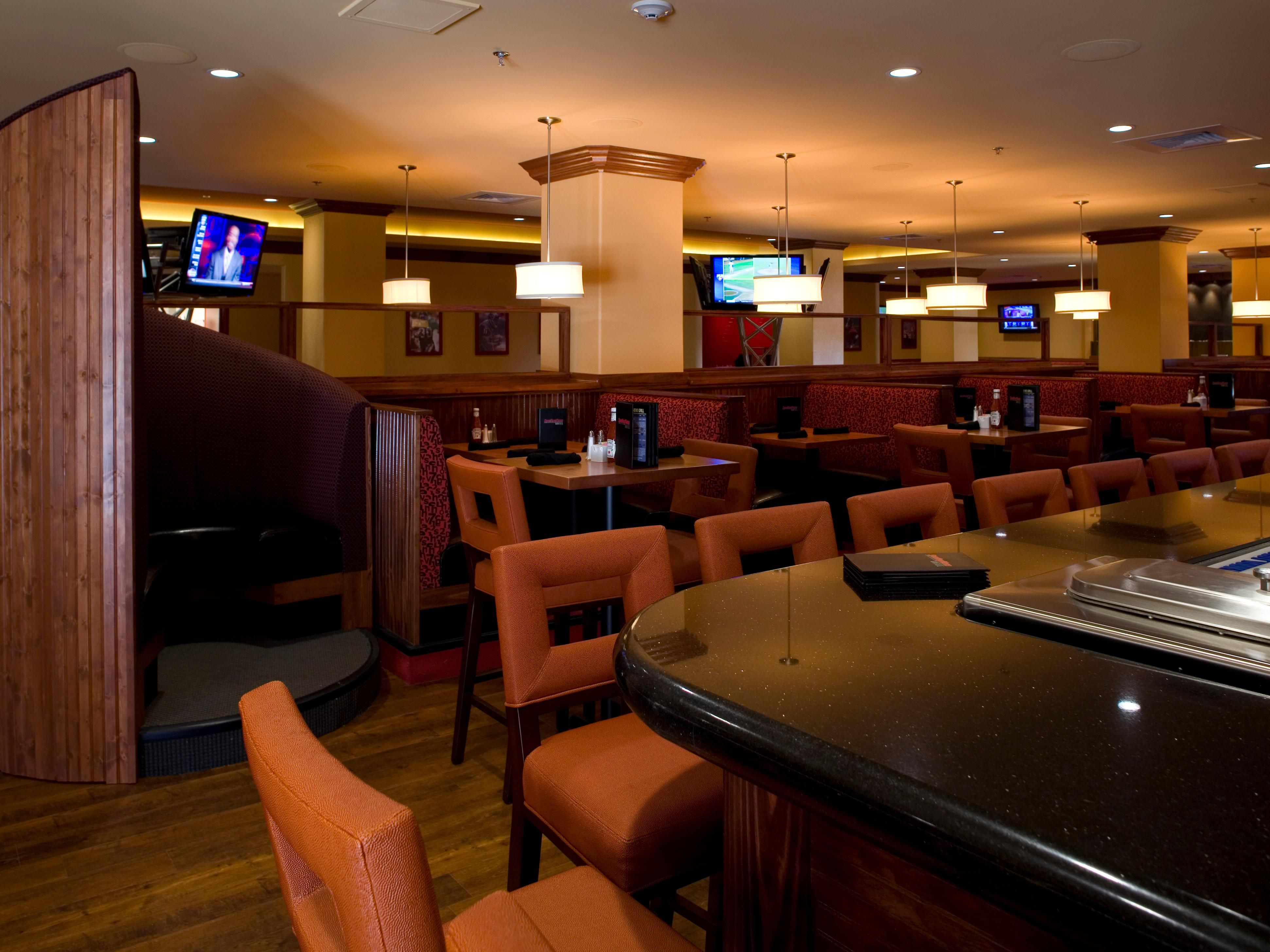 Sporting News Grill, a high energy eatery with 19 HD tv's