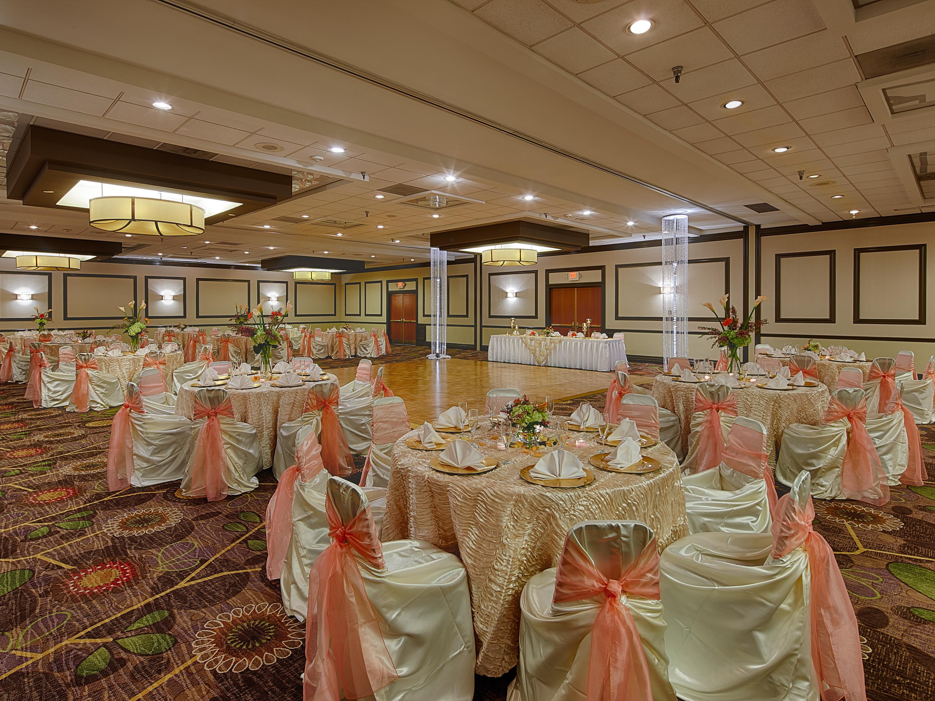 Hill Country Ball Room ready for your conference or special event!