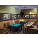 Our bar and lounge comes complete with billiard tables