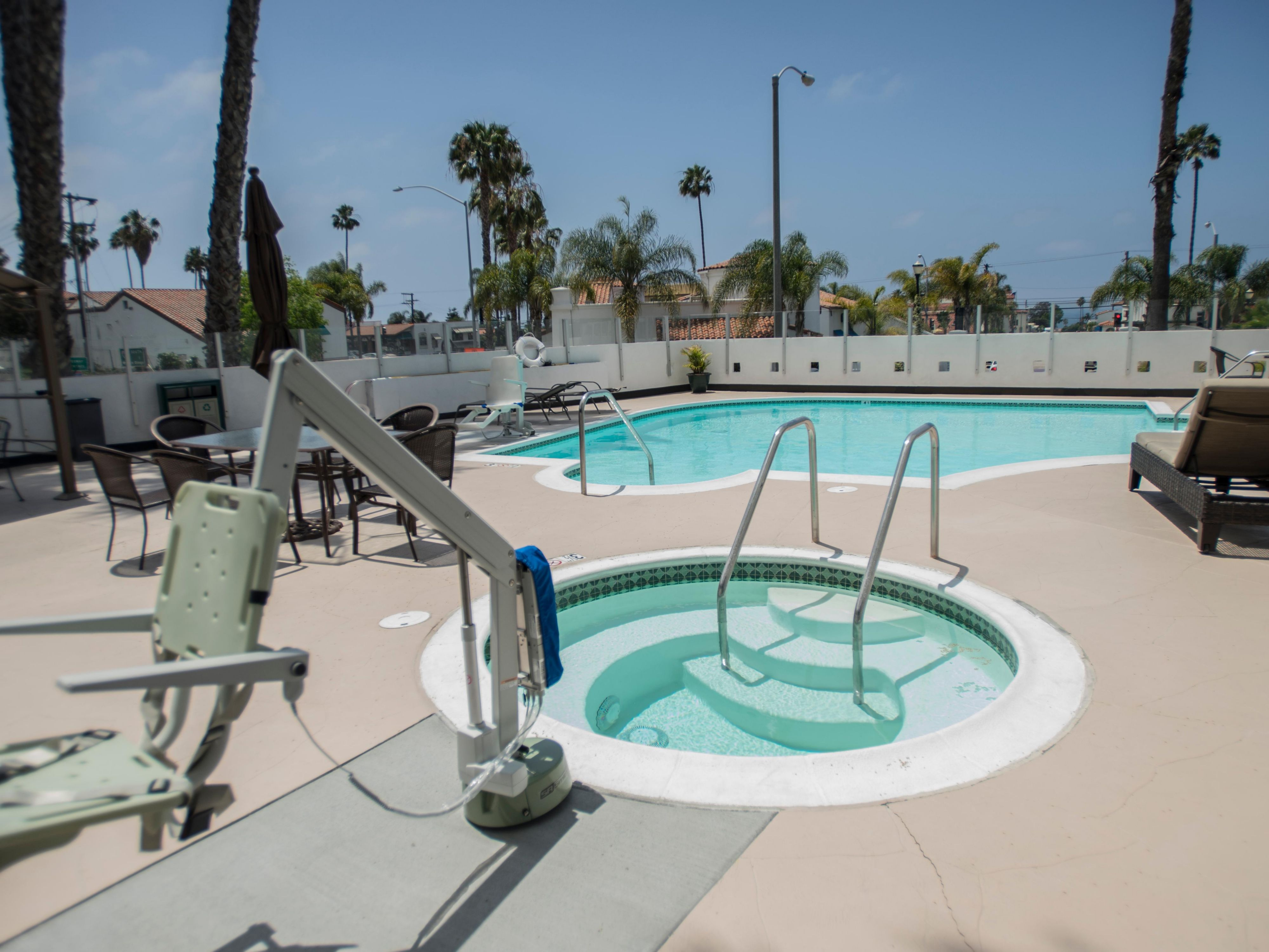 Relax in the Whirlpool at the Holiday Inn San Clemente Hotel