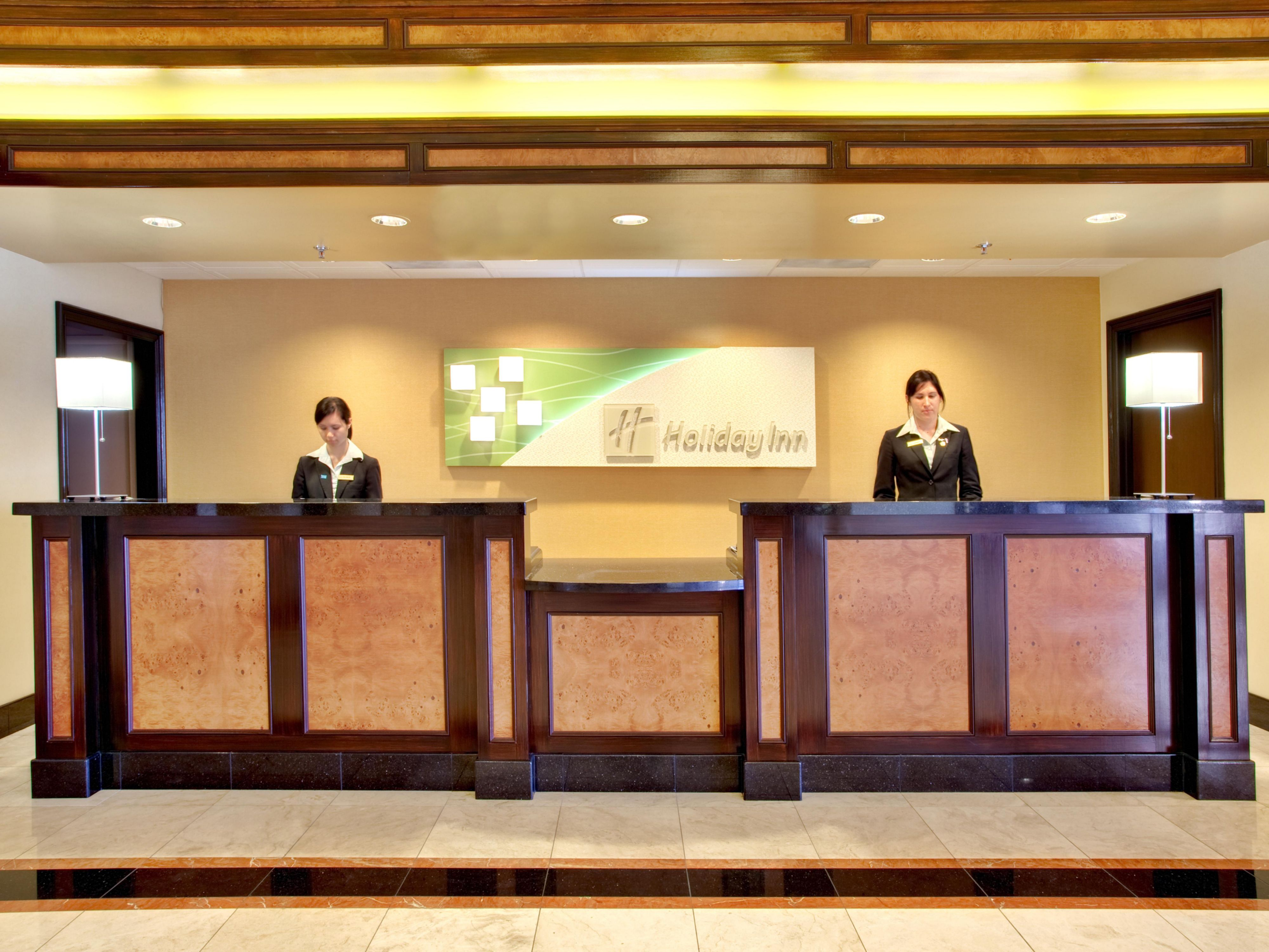 Holiday Inn San Diego Miramar Front Desk