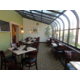 Atrium dining for your relaxation at our Santa Ana hotel
