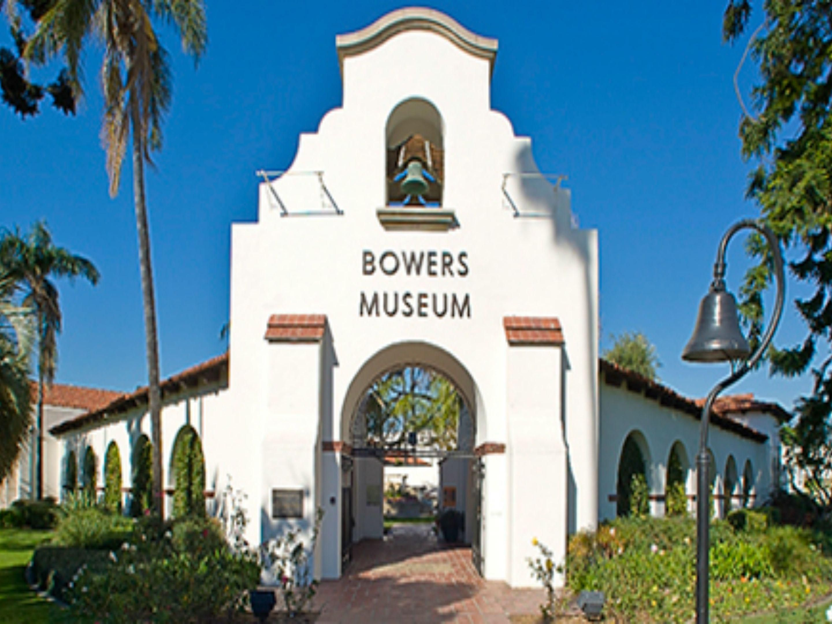 Bowers Museum, a short distance from our Santa Ana hotel