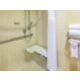 ADA/Handicapped accessible Guest Bathroom with roll-in shower