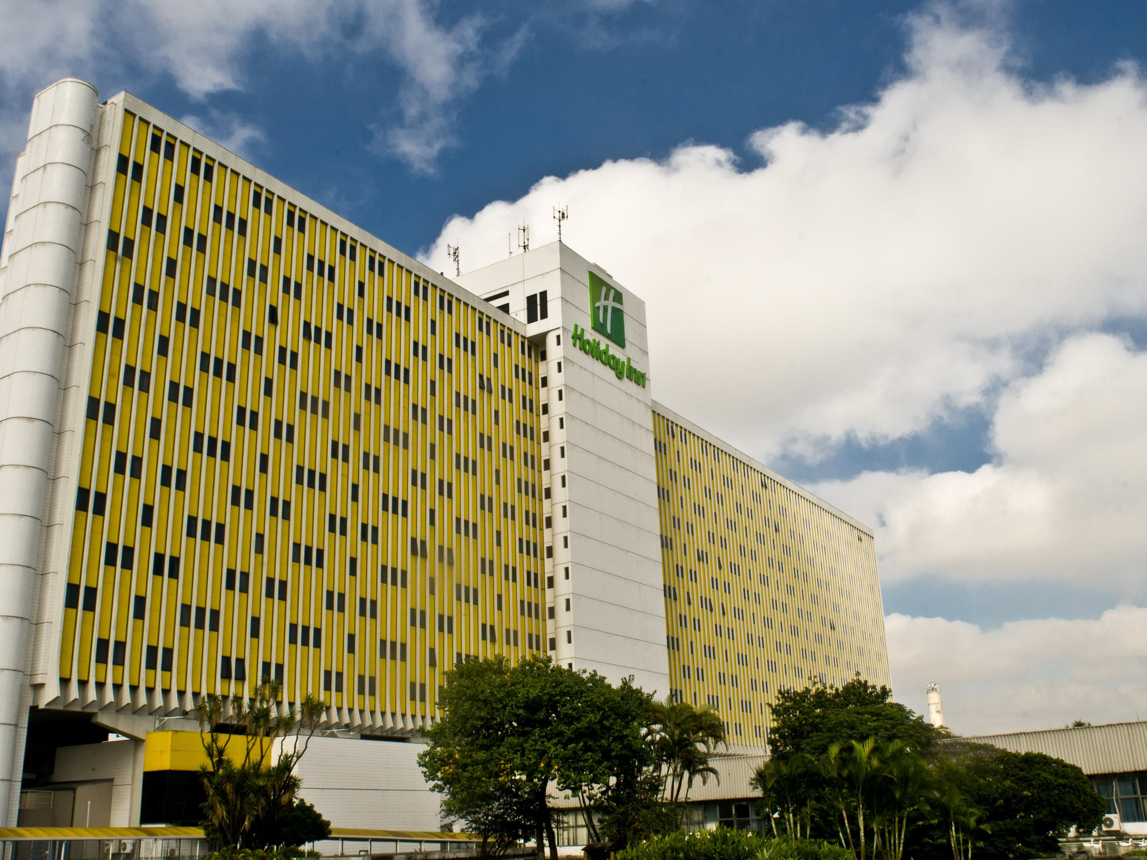 Hotel Holiday Inn Parque Anhembi's Exterior