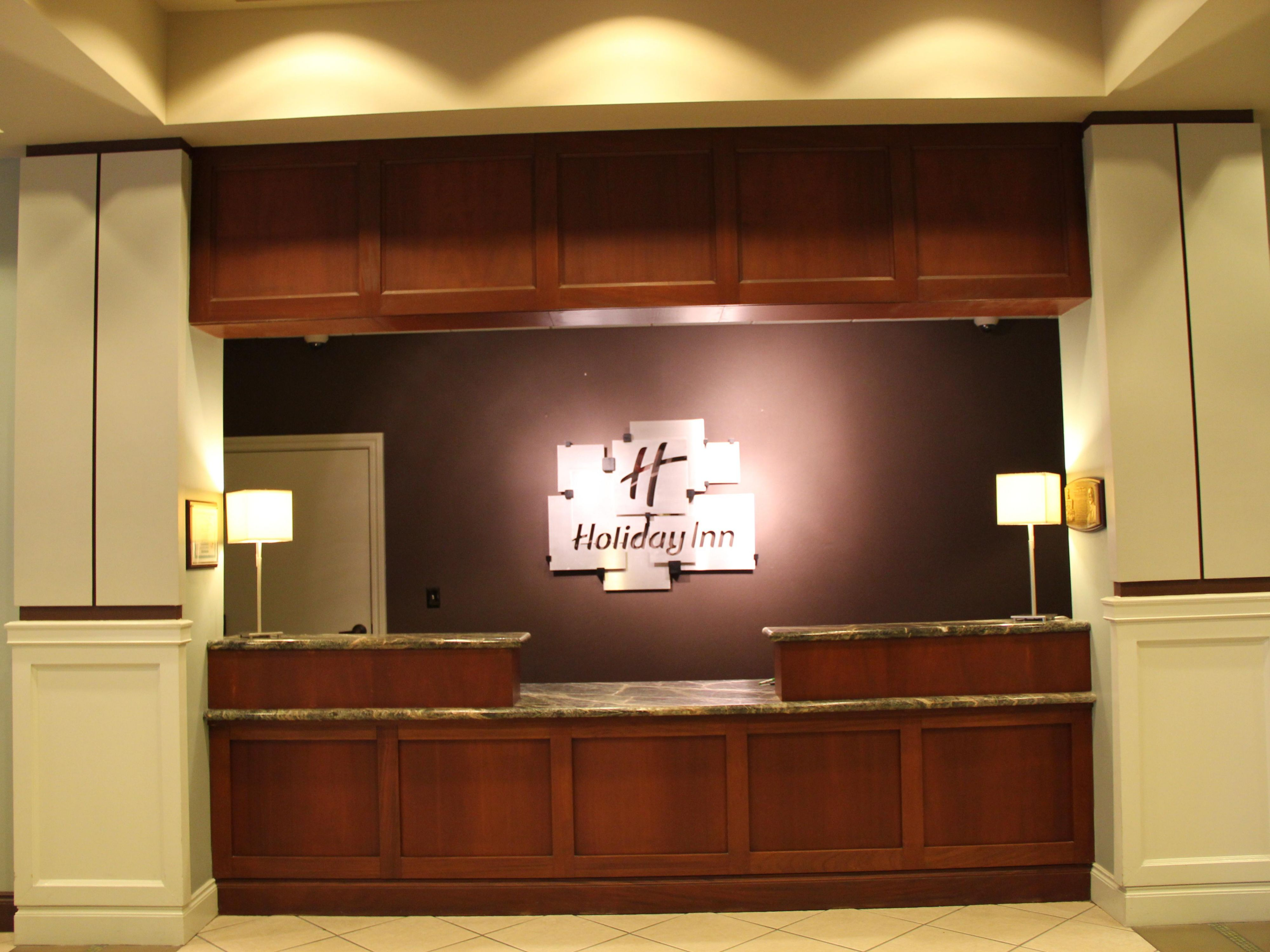 Front Desk Welcome to the Holiday Inn Lakewood Ranch