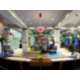 Very Contemporary Lobby and Restaurant