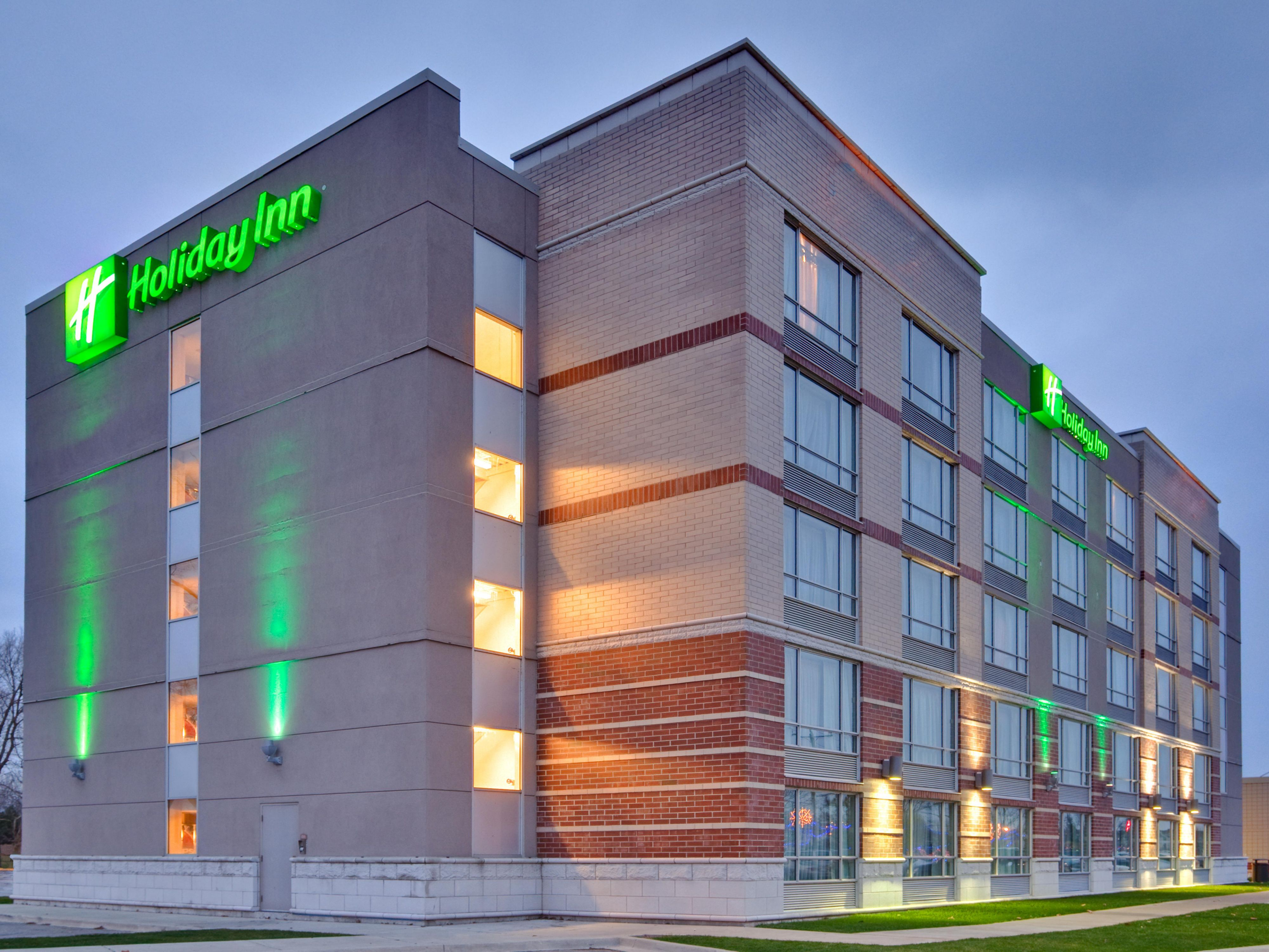 HI Sarnia Hotel is located at the foot of the Bluewater Bridges