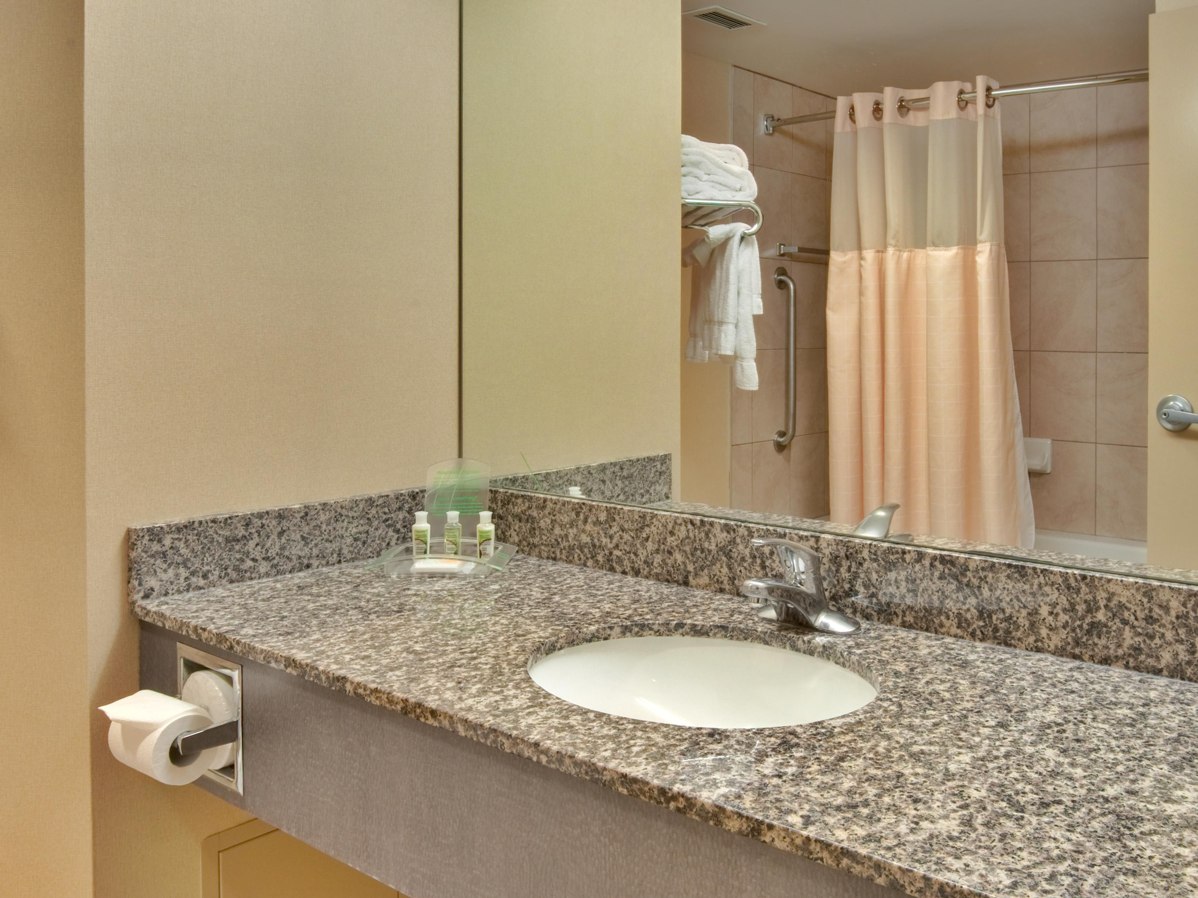 Spacious Guest Bathroom in the tower