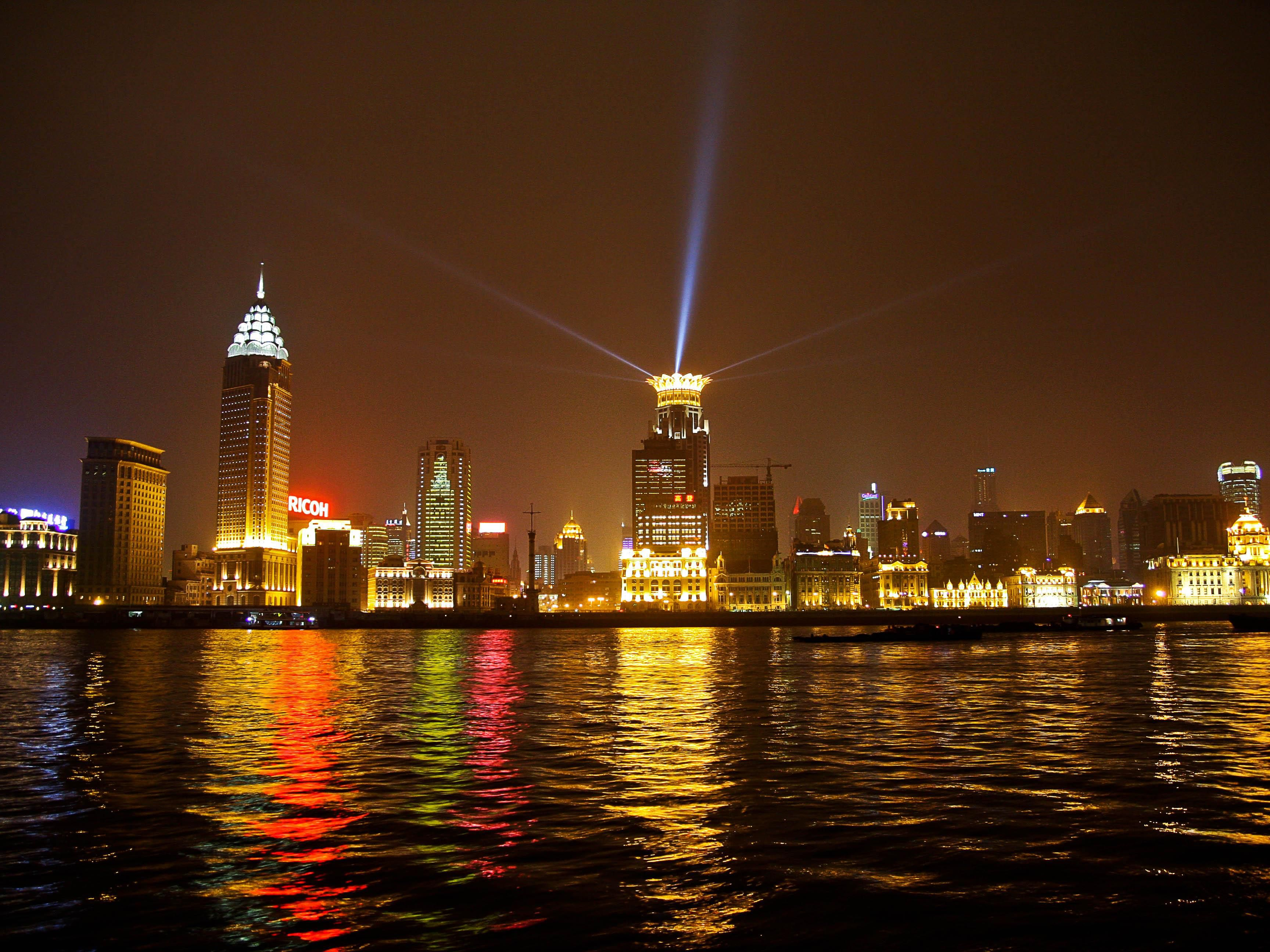 Scenery / Landscape - Night View of Pudong