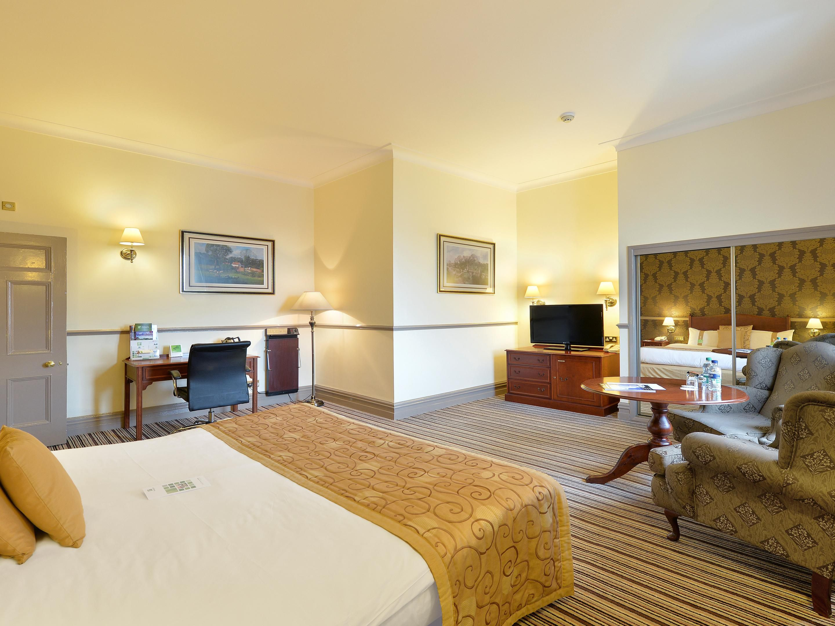 Upgrade to one of our Executive bedrooms with Spa baths