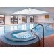 Our indoor heated pool is a great place to relax
