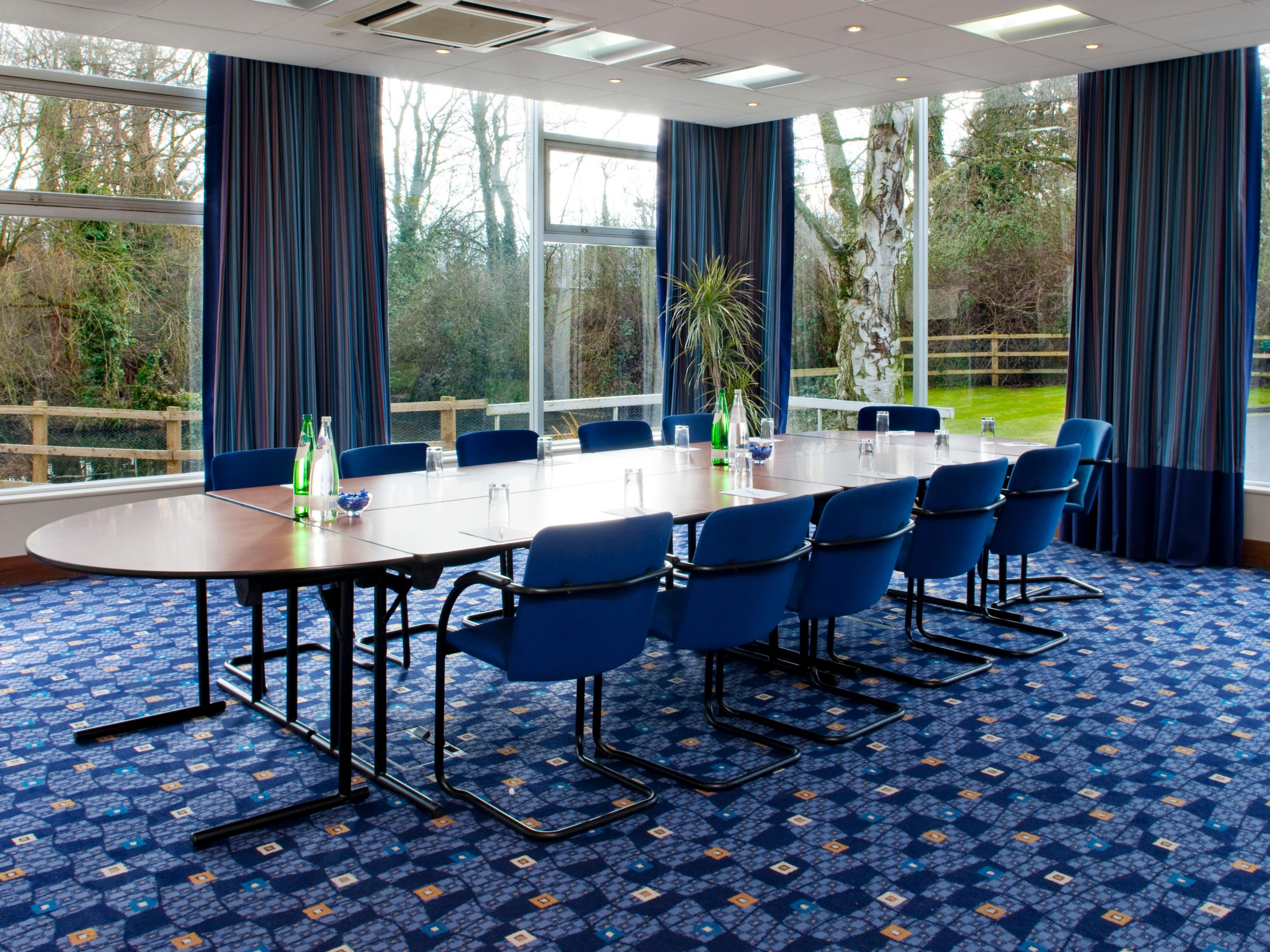 Shepperton Meeting Room in Boardroom Set up