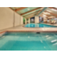 Enjoy our hot tub and swimming pool with an outdoor patio area.