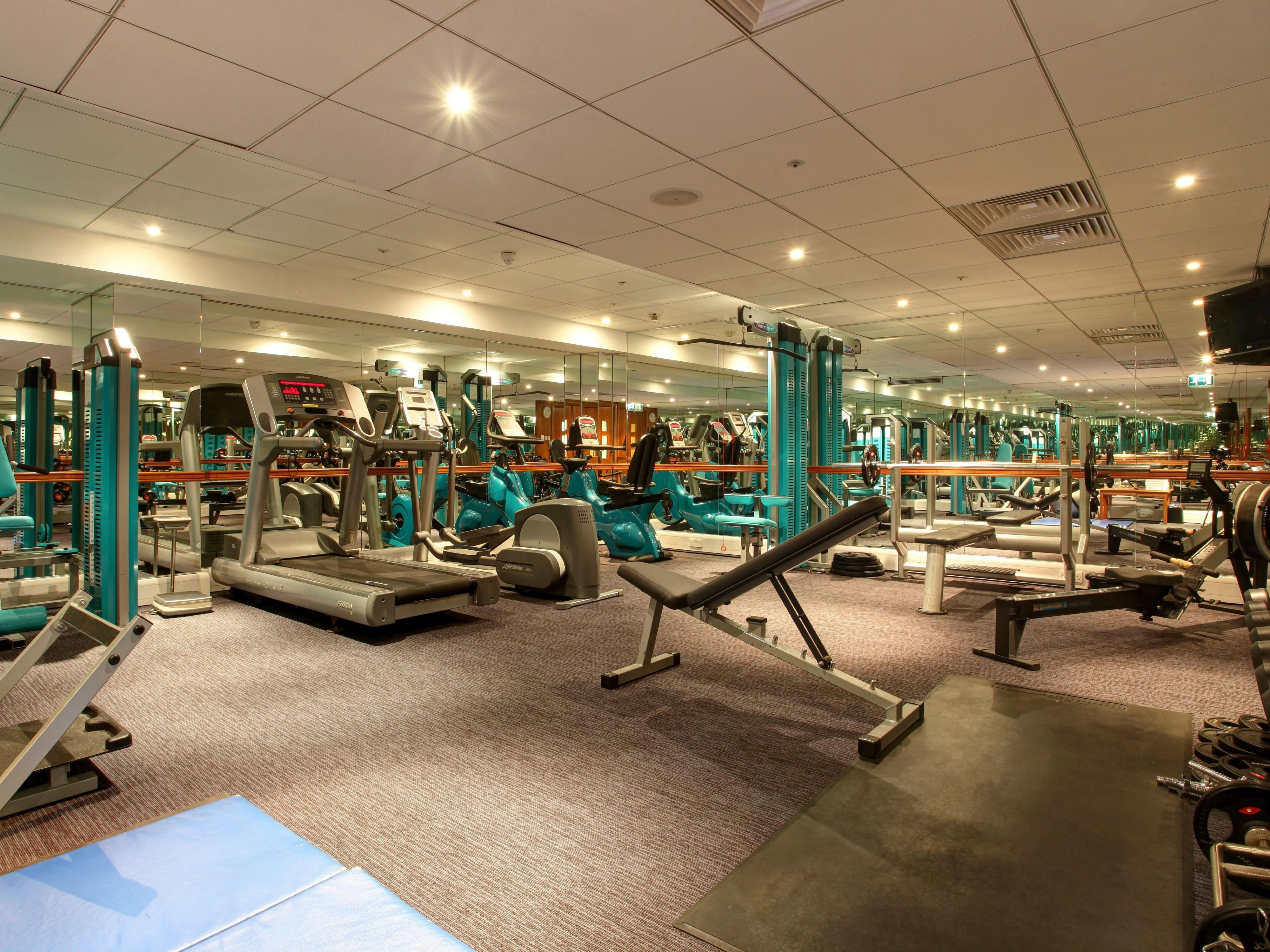 For the keep fit fanatics, we have the perfect spot