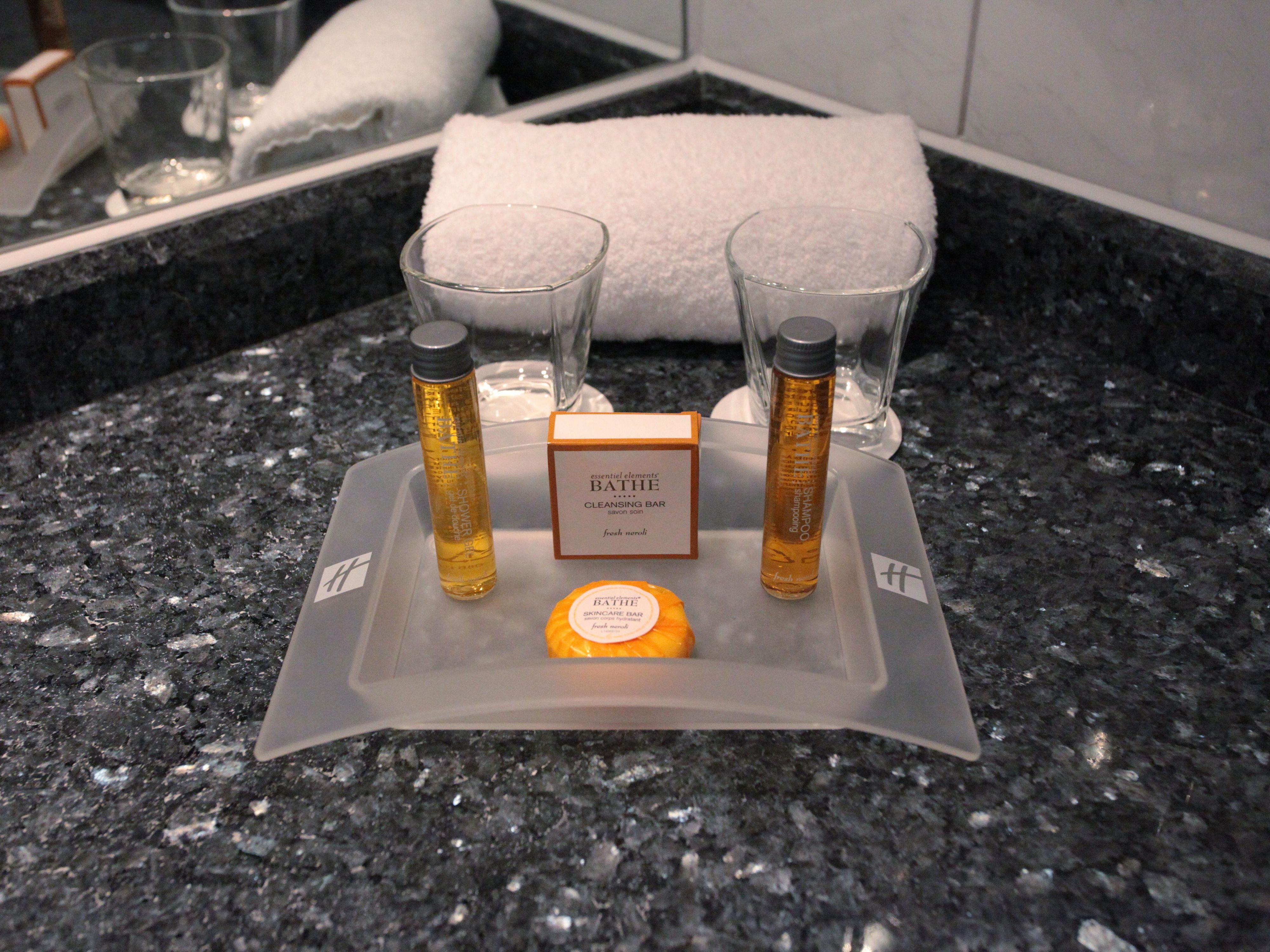 Essentiel Elements Bath Collection amenities
