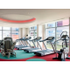 Modern air-conditioned Hotel Fitness