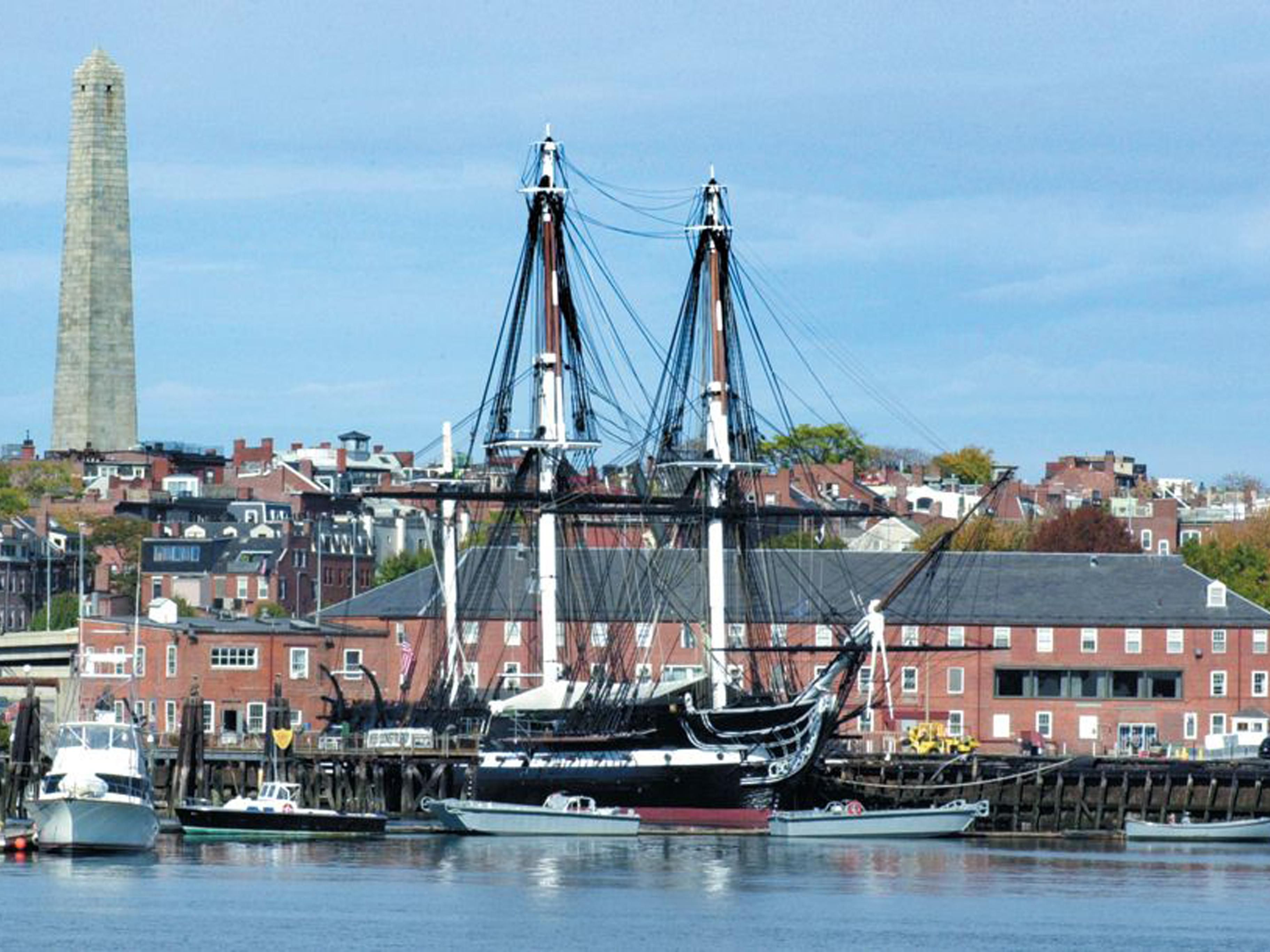 See the historic USS Constitution - Charlestown just 2 miles away.