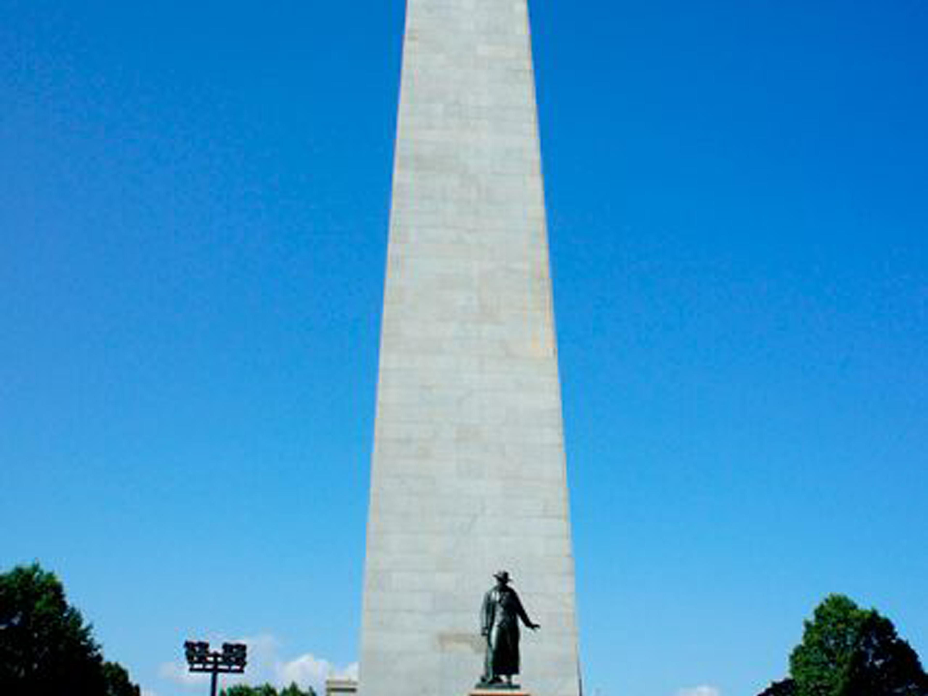 The historic Bunker Hill Monument is just five minutes away.