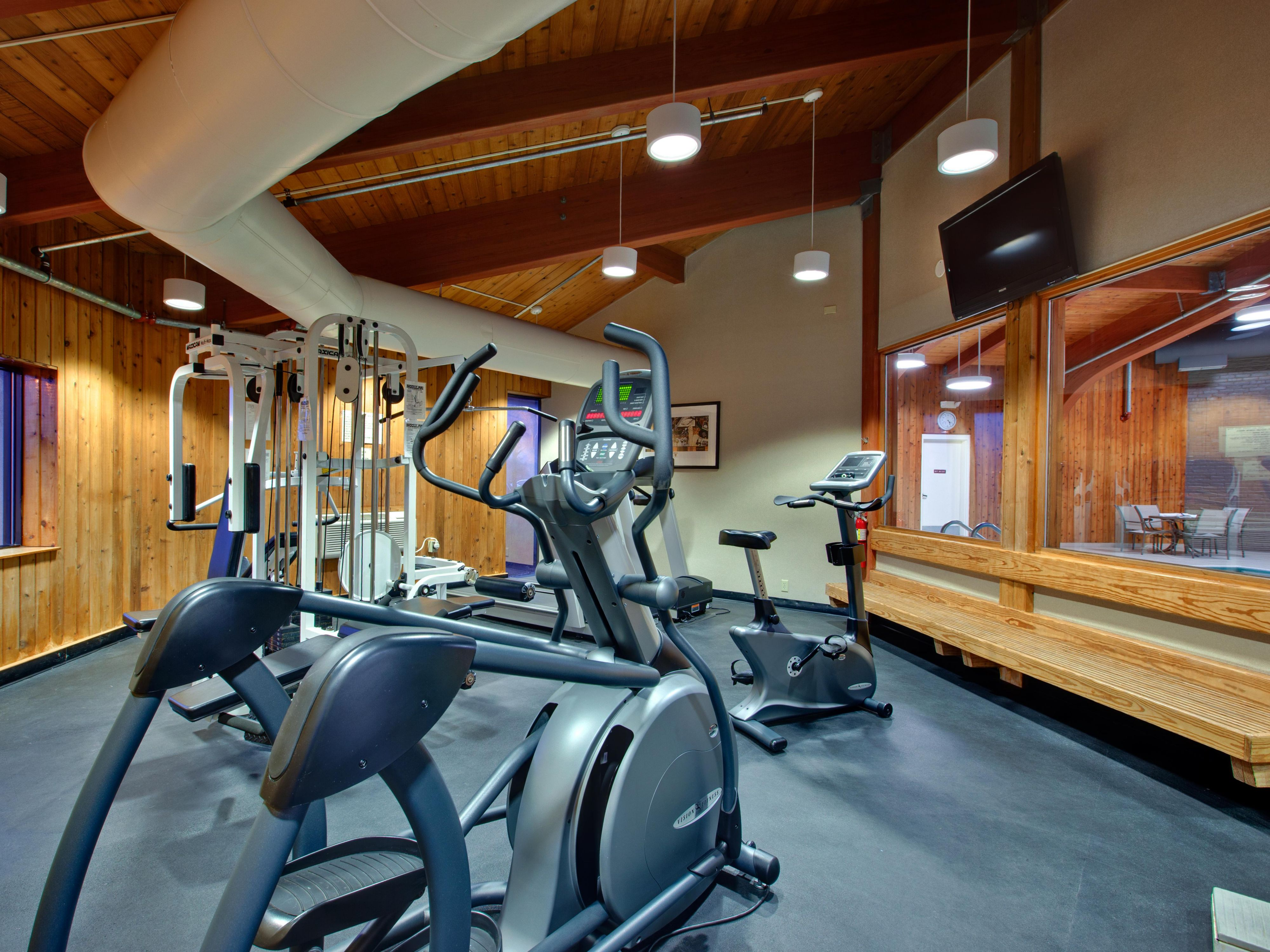On-Site Fitness room at the Holiday Inn Burlington