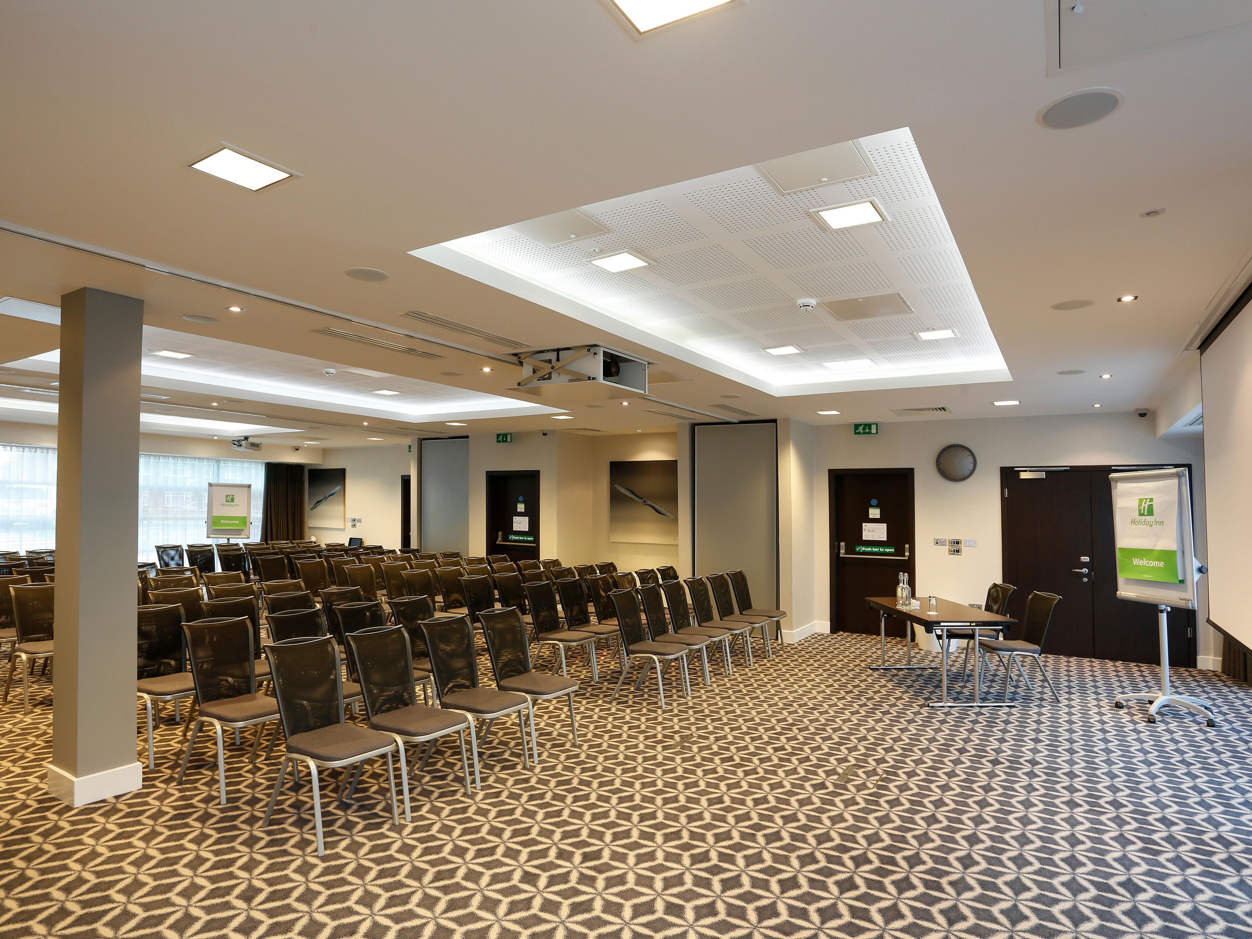 Our meeting rooms offer plenty of natural day light