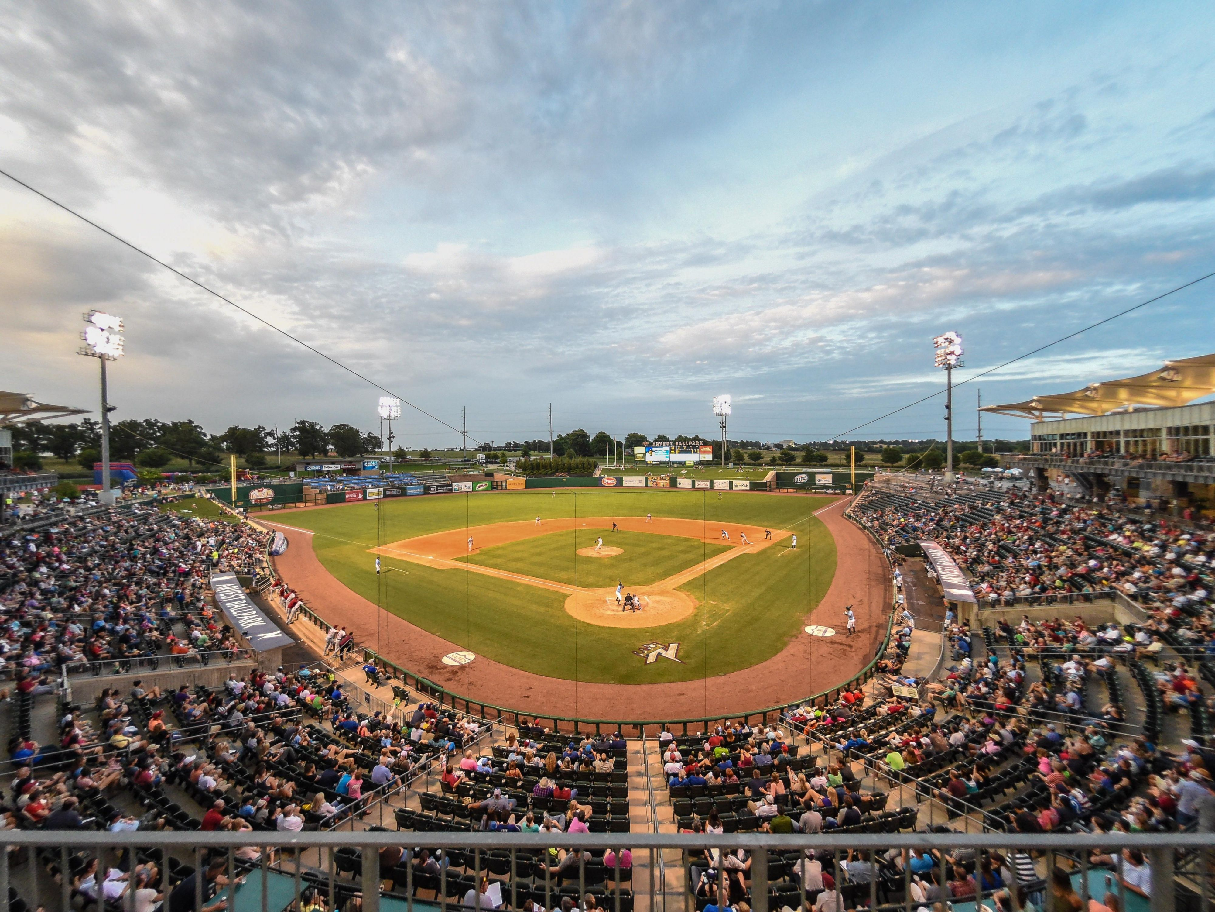 Arvest Ballpark, Home of the NWA Naturals (KC Affiliate)