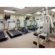 Fitness CTR with 2 treadmills, elliptical, weight machine and bike