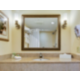 Deluxe Guest Bathroom with spacious counters and over sized mirror