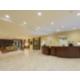 The Holiday Inn Statesboro University Area has a spacious lobby.
