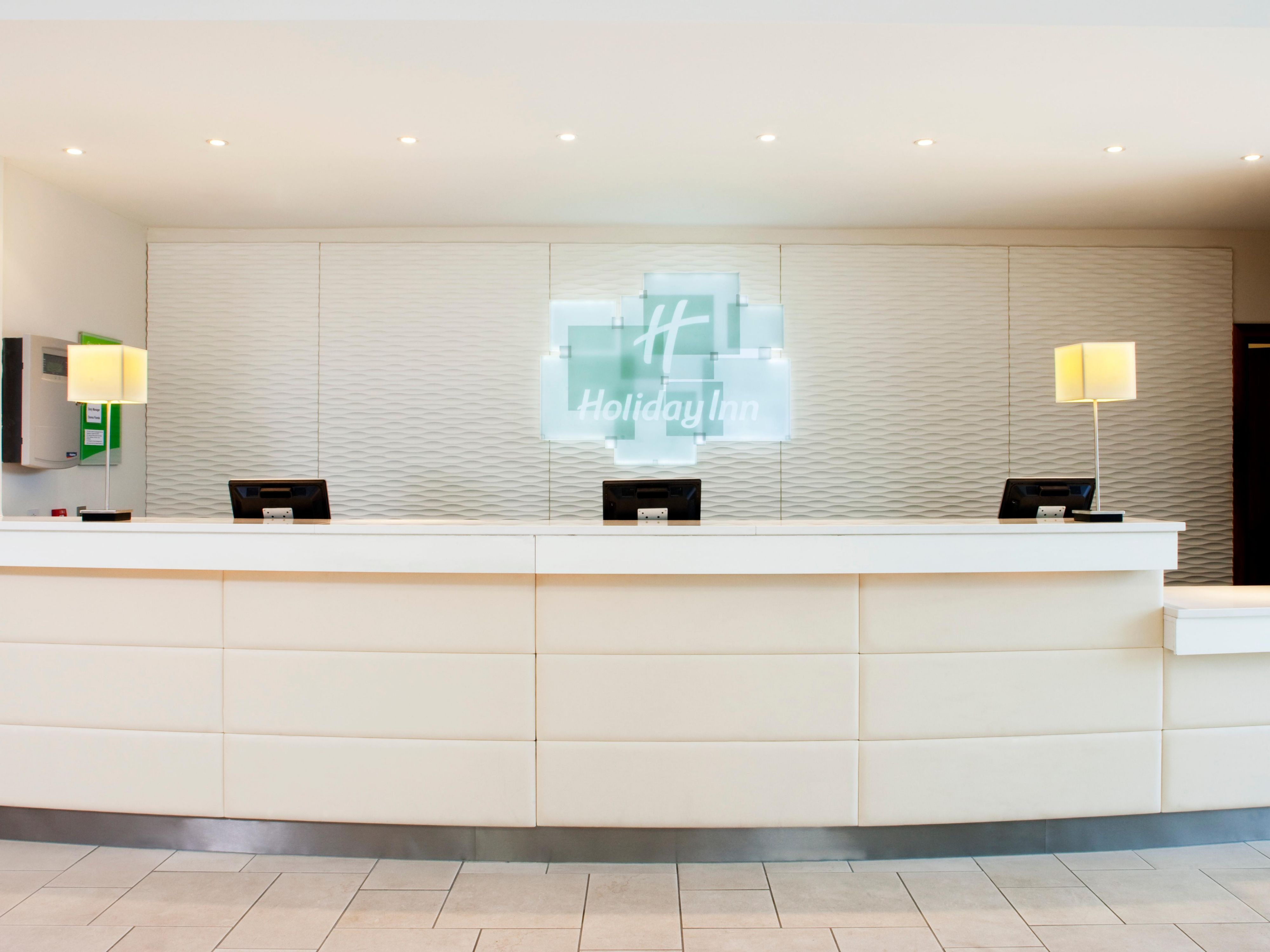 Modern, contemporary, clutter free Front Desk