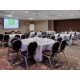 Fully flexible meeting room for up to 400 delegates
