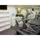 Modern and state of the art mini gym
