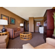 Enjoy the comfort of the living area in the Presidential Suite.