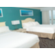Two Double Bed Oceanfront Guest Room with Balcony
