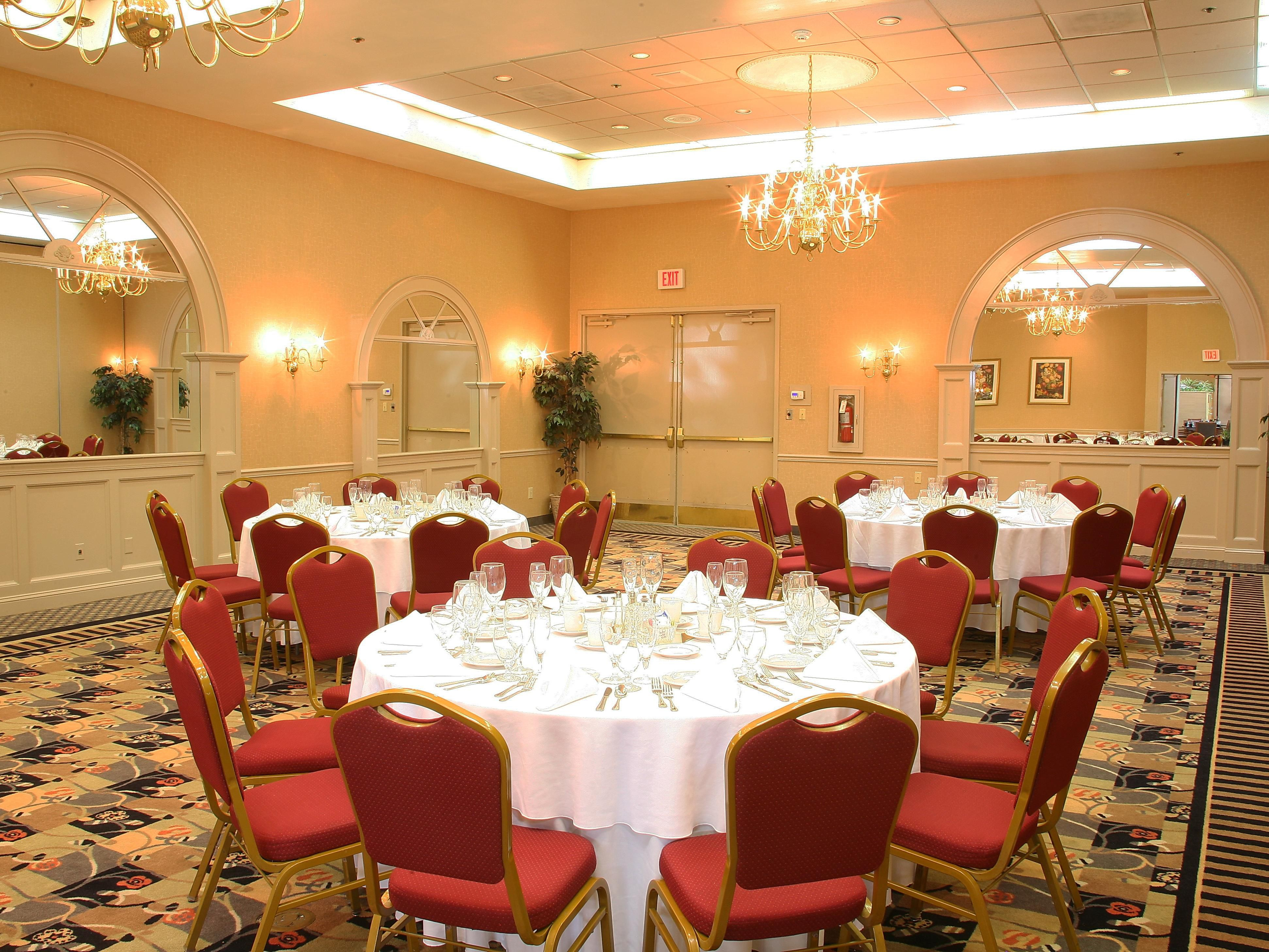 Banquets and Events at the Holiday Inn Swedesboro