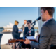 rooftop event with live music and Sydney Harbour views