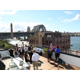 Holiday Inn Old Sydney rooftop event with Harbour Bridge views